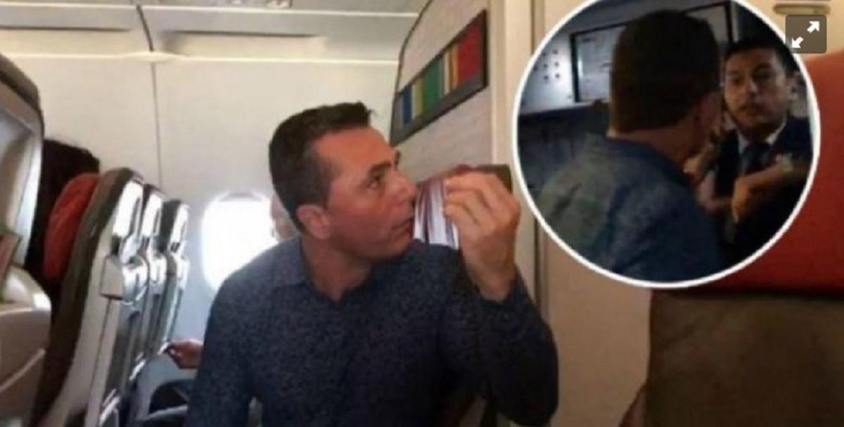Le Agarro Diarrea En El Avion Y Trompeo Al Tripulante Me Estoy