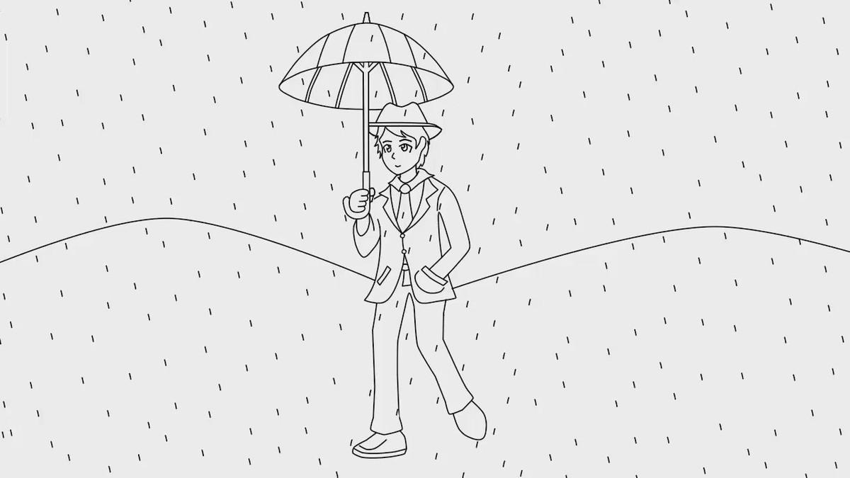 Cómo Es El Test Psicológico De La Persona Bajo La Lluvia