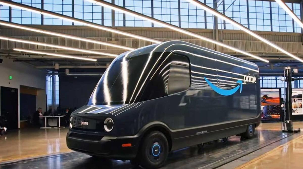 Amazon trabaja en su propia camioneta eléctrica: conocé a su fabricante