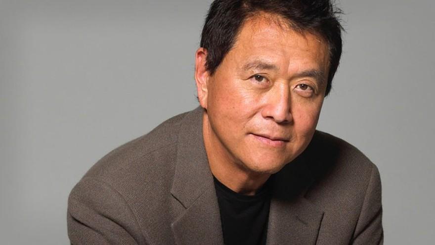 "Robert Kiyosaki autor de ""Padre rico, padre pobre""."