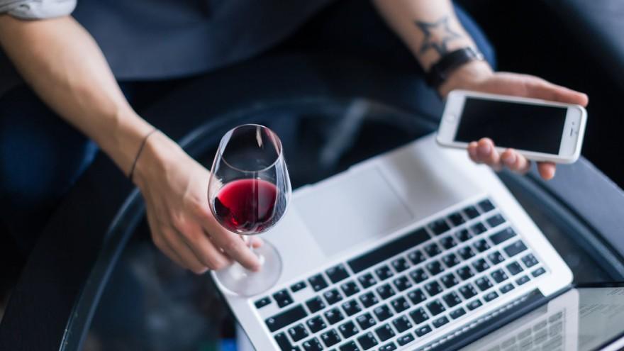 Efecto cuarentena: venta de vinos online se dispara con el aislamiento