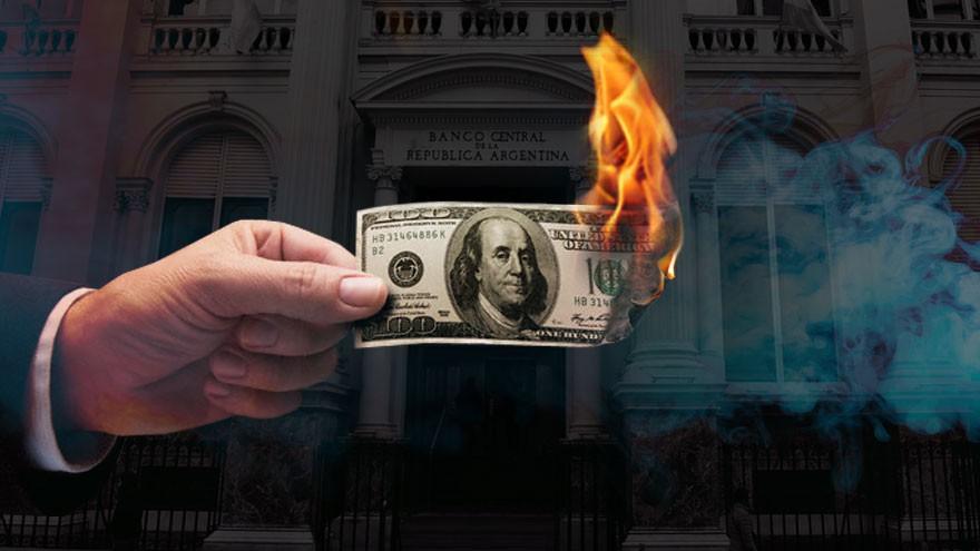 Ante la emergencia, el Central cuida las reservas y prepara una asistencia masiva al Tesoro