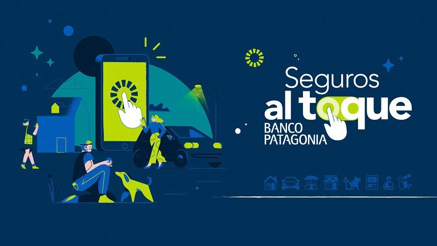 Banco Patagonia lanza Seguros al toque, su nueva propuesta digital