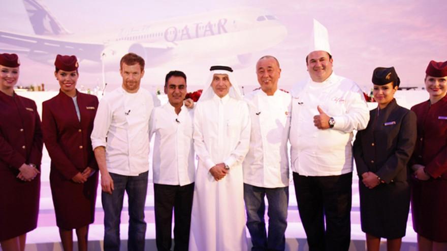 Cocina De Alto Vuelo Qatar Airways Incorporo Multipremiados Chefs Internacionales